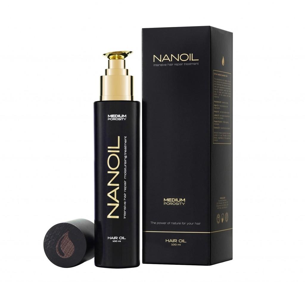 egészséges haj Nanoil - val